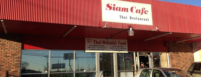 Siam Cafe is one of Nashville Restaurants.