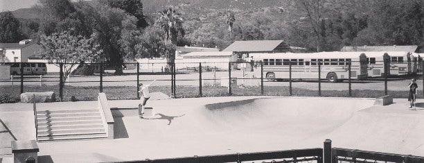 Ojai Skate Park is one of No Man's Land Path.