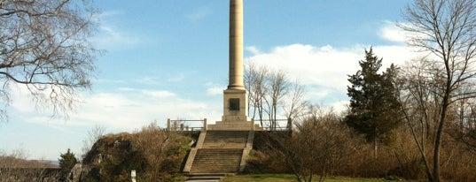 James Rumsey Monument Park is one of Shepherdstown, WV.