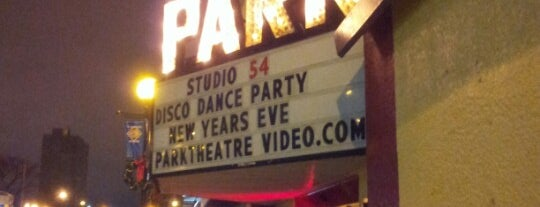 The Park Theatre Café is one of Winnipeg.