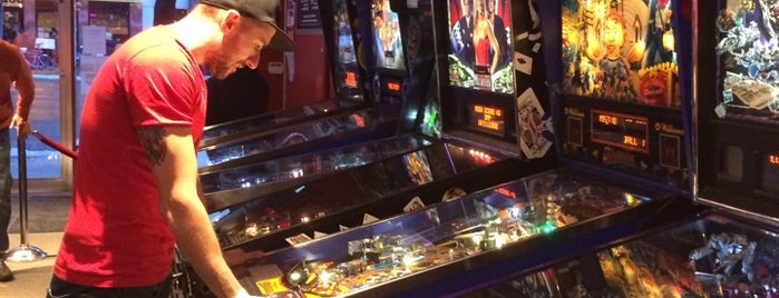 Modern Pinball NYC is one of The Black Notebook.