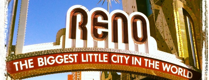 The Reno Arch is one of Reno.