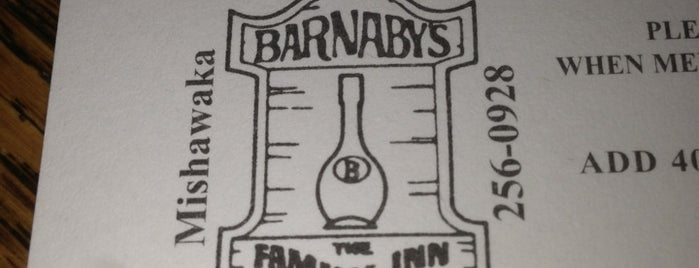 Barnaby's is one of South bend, in.