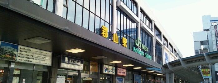 Kōriyama Station is one of 新幹線つばさ停車駅.