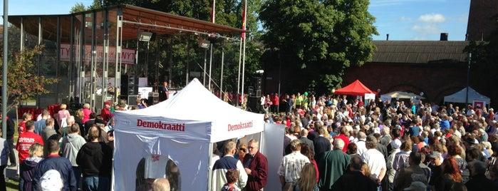 Laikunlava is one of Harrasteet, puistot & muut mestat.
