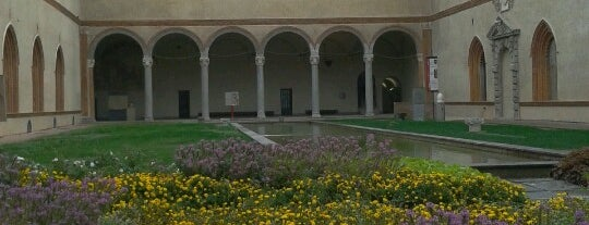 Musei Castello Sforzesco is one of Best places in Milan.
