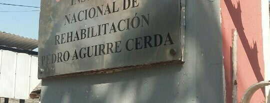 Instituto Nacional de Rehabilitación Pedro Aguirre Cerda is one of Lugares :).