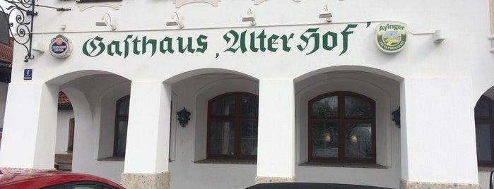 Alter Hof is one of Restaurants, Cafes & Bars.