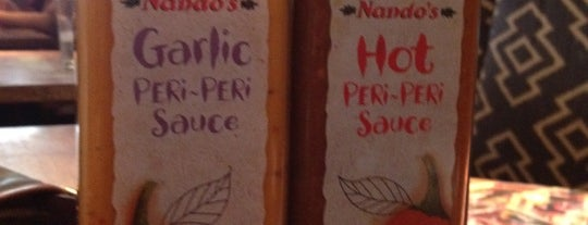 Nando's is one of My Favourite Food Places.