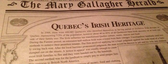 McKibbin's Irish Pub is one of Best Terrasses in Montreal.