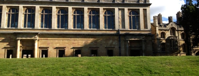 Wren Library Trinity College is one of Inspired locations of learning.