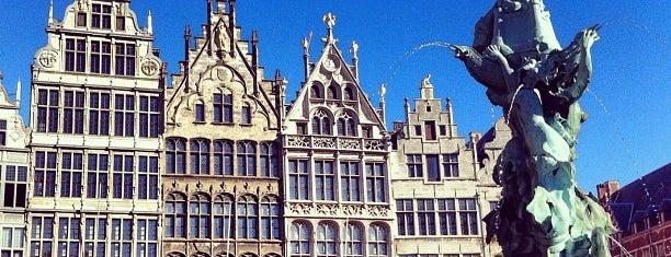 Grote Markt is one of Antwerpen #4sqCities.