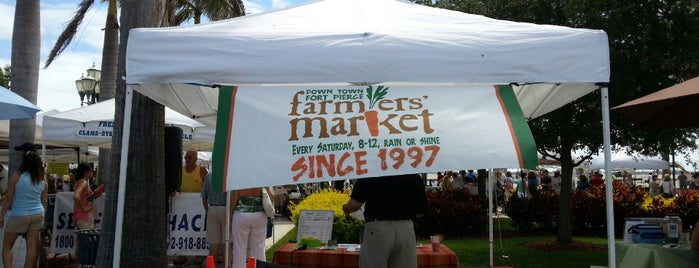 Fort Pierce Farmer's Market is one of Angie's GUIDE TO FORT PIERCE:.