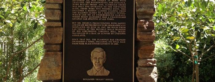 Bugsy Siegel Memorial is one of 7 New Vegas!.