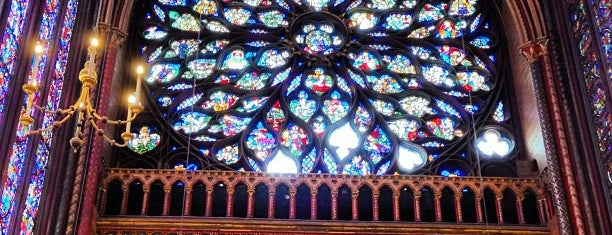 Sainte-Chapelle is one of Paris, FR.