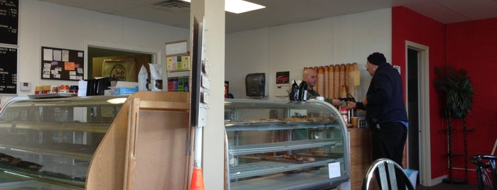 Ernies's Coffee & Donuts is one of app check!.
