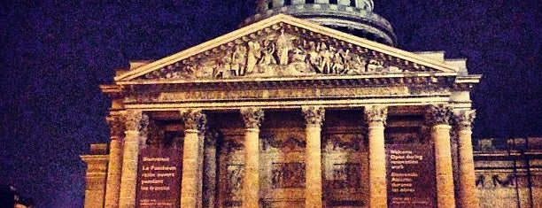 Pantheon is one of Paris.