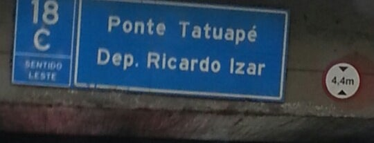 Ponte do Tatuapé is one of Chekings.