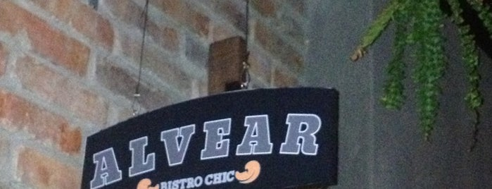 Alvear Bistro Chic is one of Restaurantes visitados.