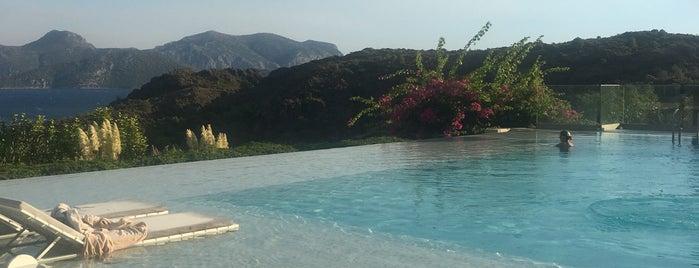 Infinity Pool D Hotel Maris is one of Aegean Coast.