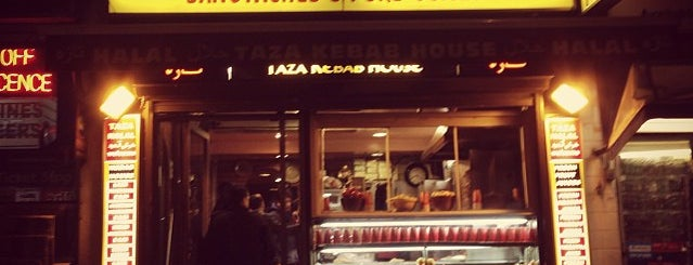 Taza Kebab House is one of The 15 Best Places for a Shawarma in London.