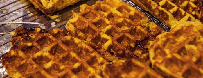 Maison Dandoy - Tearoom & Waffle is one of 9 Sweets and Treats to Eat in Europe.