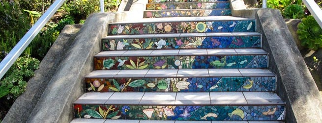Lyon Street Steps is one of Top 20 Free things to do in San Francisco.