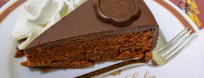 Café Sacher Salzburg is one of 9 Sweets and Treats to Eat in Europe.