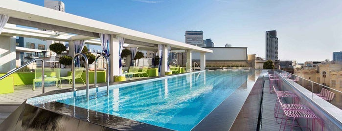 Marina Rooftop Bar is one of We Love Tel Aviv!  #4sqCities.