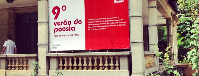 Casa das Rosas is one of Museus e Centros Culturais.