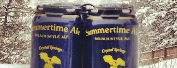 Crystal Springs Brewing is one of Colorado Beer Tour.