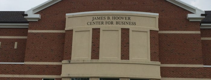 Hoover Center for Business is one of Elizabethtown College.