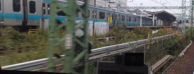 Keikyū Shinkoyasu Station (KK32) is one of Station - 神奈川県.