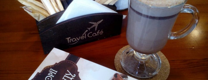 TRAVEL CAFE is one of 2:8.