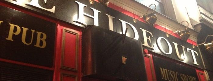 Hideout is one of paris dive bars.