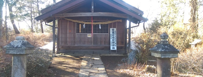 駒形神社 is one of 201405_中山道.