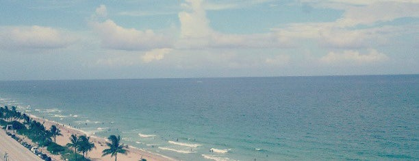Fort Lauderdale Beach is one of Miami.