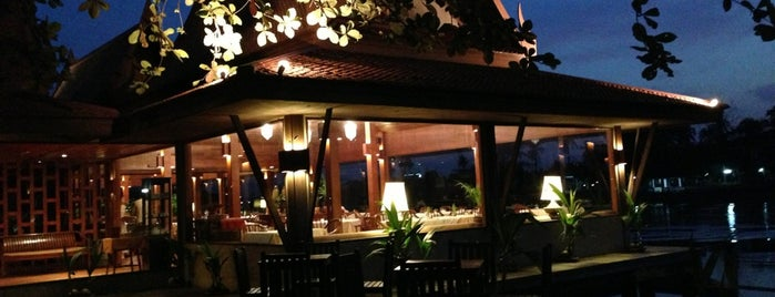 Inn Chan Restaurant - Sampran Riverside (ห้องอาหารอิน-จัน) is one of ครัวคุณต๋อย 2557.