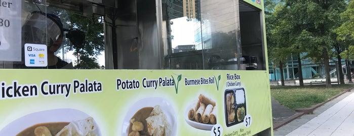 Burmese Bites is one of NYC on my way.