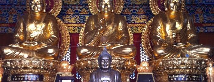 วัดบรมราชากาญจนาภิเษกอนุสรณ์ (เล่งเน่ยยี่ 2) 普頌皇恩寺 is one of Holy Places in Thailand that I've checked in!!.