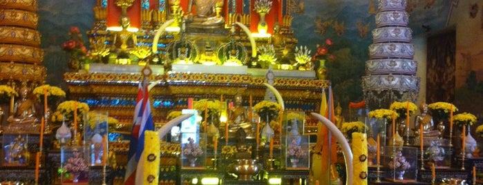 Wat Po Chai is one of Holy Places in Thailand that I've checked in!!.