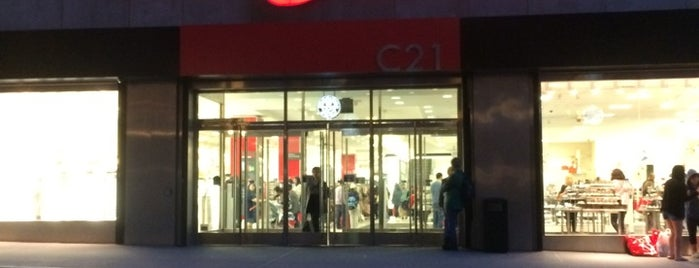 Century 21 Department Store is one of NYC SHOPS.