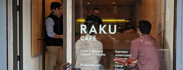 Raku is one of Mexico City Favorites.