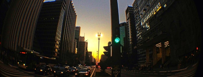 Avenida Paulista is one of Sao Paulo.