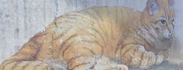 Penang Street Art : Skippy is one of Penang Art.