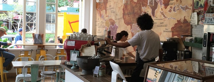 Earth Cafe is one of New York's Best Coffee Shops - Manhattan.