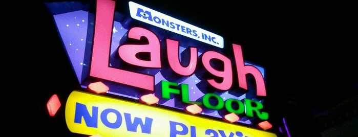 Monsters, Inc. Laugh Floor is one of Magic Kingdom Guide by @bobaycock.