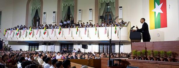 Yangon University is one of Interesting info, etc.