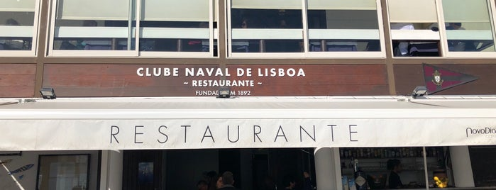 Restaurante do Clube Naval is one of Restaurantes Lisboa e Arredores.