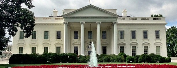 The White House is one of Dan's Places.